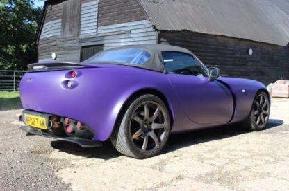 violetines spalvos dazai
