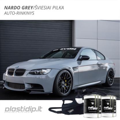 Nardo Grey - Auto dažymo rinkinys 1