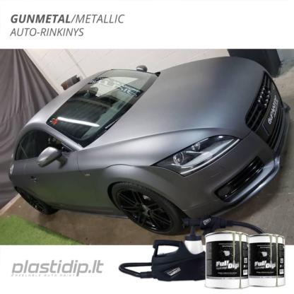 Gunmetal Metallic - Auto dažymo rinkinys 1